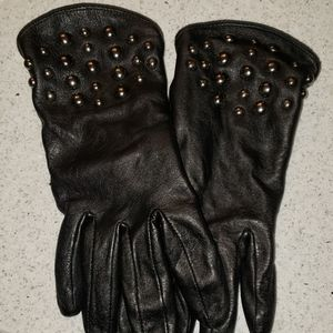 NINE WEST leather gloves
